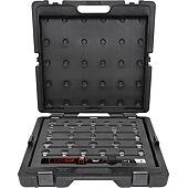 Jeu de clés dynamométriques à emmancher 14x18 mm , 3/8'' - 9x12 mm - 29 pcs image