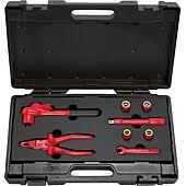 Coffret d'outils isolés pour véhicules électriques PSA - 8 pcs image