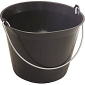Seau de maçon plastique noir - 11L image
