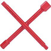 Clé sanitaire en croix, 6 pans extérieurs 10 à 22 mm, L.200 mm image