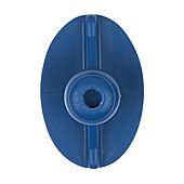 Pastille à coller elliptique, plate 33 x 22 mm image