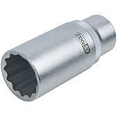Douille pour injecteur 1/2'', 12 pans 27 mm image