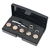 Kit de réparation de vis de carter d'huile M14 x 1,5 mm, 12 pièces image