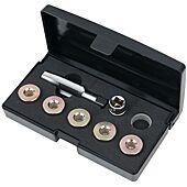Kit de réparation de vis de carter d'huile M18 x 1,5 mm, 12 pièces image