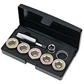 Kit de réparation de vis de carter d'huile M24 x 1,5 mm, 12 pièces image