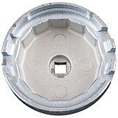 Cloche filtre à huile 3/8 64,5mm 14 pans 3 encoches du coffret 150.9210 image