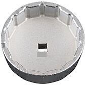 Cloche filtre à huile 3/8 74,2mm 14 pans du coffret 150.9210. image