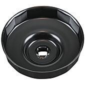 """Cloche pour filtre à huile 1/2"""" diamètre 106 mm image"""