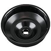 """Cloche pour filtre à huile 1/2"""" diamètre 107 mm image"""