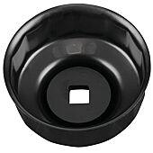 """Cloche pour filtre à huile 3/8"""", Ø 64,0 mm / 14 cannelures image"""