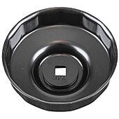 """Cloche pour filtre à huile 3/8"""", diamètre 93 mm image"""
