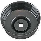 """Cloche pour filtre à huile 3/8"""", diamètre 80/82 mm image"""