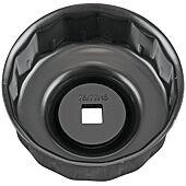 """Cloche pour filtre à huile 3/8"""", diamètre 75/77 mm image"""