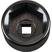"""Cloche pour filtre à huile 3/8"""", diamètre 32 mm / 6 cannelures image"""