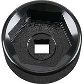"""Cloche pour filtre à huile 3/8"""", diamètre 36 mm / 6 cannelures image"""