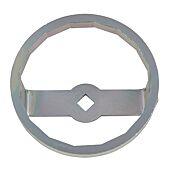 """Cloche pour filtre à huile 3/8"""", diamètre 87 mm / 16 cannelures image"""