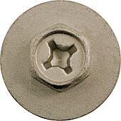 Vis en métal avec rondelles pour Mercedes et BMW - Ø 6,3 mm - 10 pcs image