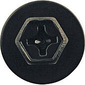 Vis en métal noire avec rondelle pour Volkswagen, Audi, Peugeot/Citroën et Opel - Ø 6,2 mm - 10 pcs image