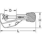 Coupe-tube 4-28 mm du coffret 122.1100 image