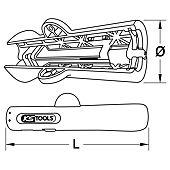 Couteau à dégainer pour câbles ronds Ø 8 à 13 mm image