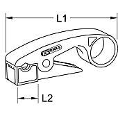 Pince à dénuder pour câbles coaxiaux, 110 mm image