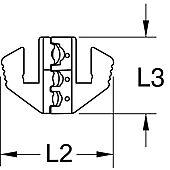 Mâchoire pour cosses isolées, Ø0,5 - 6 mm image