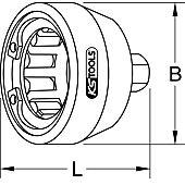 Dégoujonneuse excentrique à rouleaux 3/4'' 36 mm image