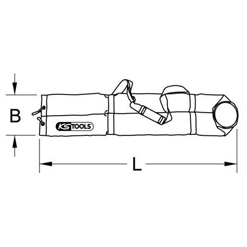 Sacoche de protection pour tapis isolant image
