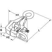 Pince de traction pour box, deux sens de traction image