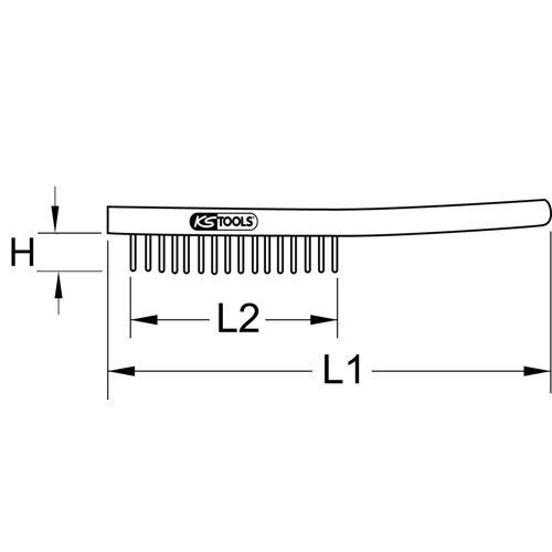 Brosses métalliques BRONZEplus image