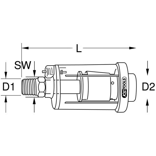 Filtre pneumatique anti-condensation image