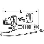 Pompe à graisse avec 2 batteries Li-Ion - 18V image