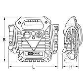 Booster hybride 1800 A au démarrage image