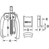 Extracteurs universels BASIC à trois griffes image