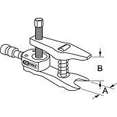 Arrache rotule universel sans piston hydraulique 36x90x10 mm image