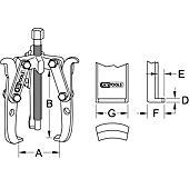Extracteurs universels à deux et trois griffes image