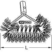 Goupillon de face pour chaudière, L.50,0 mm image