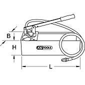 Pompe d'épreuve manuelle, 60 Bars image