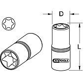 Douille TORX® E 12 extra courte pour Mercedes image