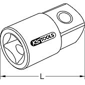 Augmentateur pour bague coulissante ULTIMATE® 1/4'' F x 3/8'' M image