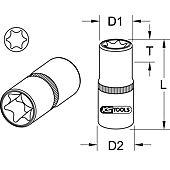 Rail de 7 douilles ULTIMATE® TORX® 1/4'' image