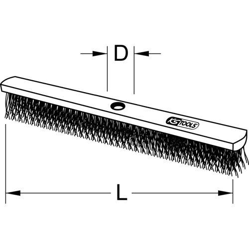 Balais droits en fibre de coco image