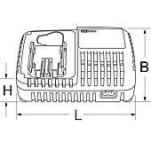 Chargeur universel pour batterie Li-Ion - 10,8V-18V image