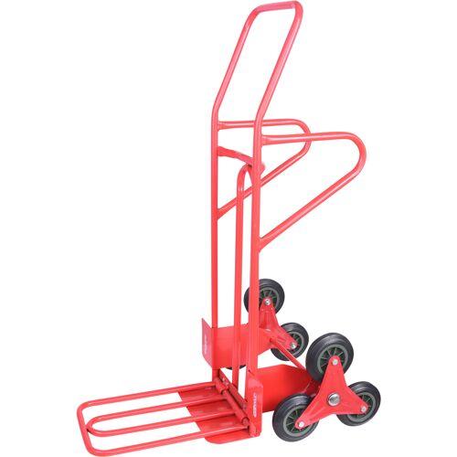Diable spécial escalier avec bavette repliable - 250 kg image