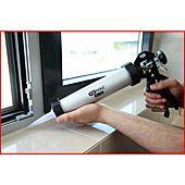 Pistolet à silicone - pour cartouches 400 ml et poches image