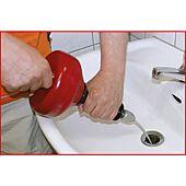 Déboucheur manuel ou électrique Ø6 mm x 4,5 m image
