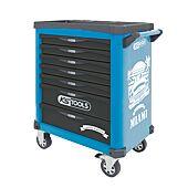 Servante MIAMI 7 tiroirs équipée de 284 outils + 1 montre offerte image