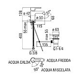 Mitigeur bidet Ancoswing 2 - chrome image
