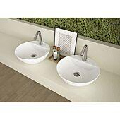 Vasque ronde Ancoswing - Blanc image