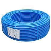Tube PER pré-gainé bleu image